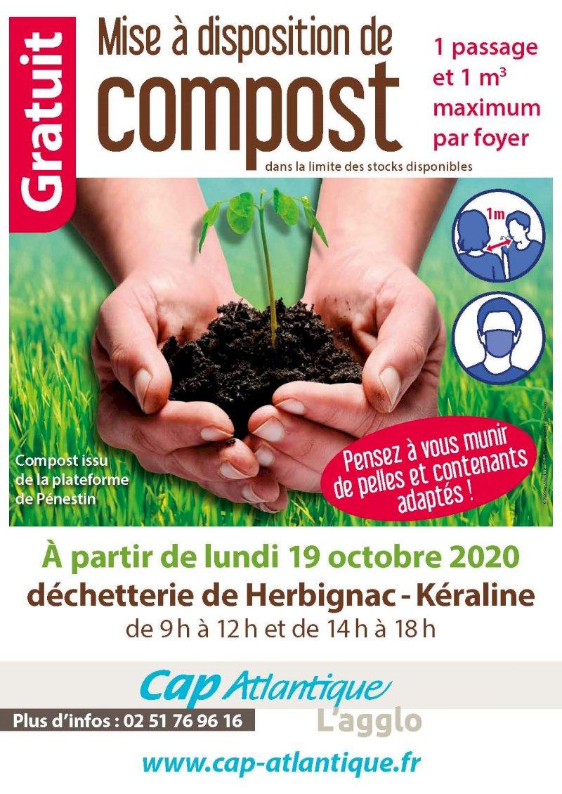 Mise à disposition de compost