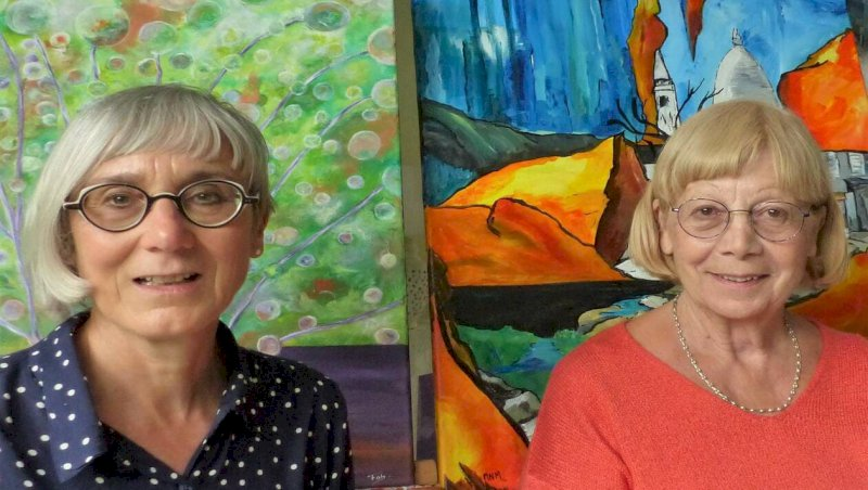 La Bernerie-en-Retz. Deux peintres, deux univers salle Magrés | Presse Océan