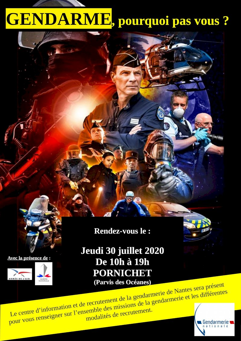 Stand de la gendarmerie nationale