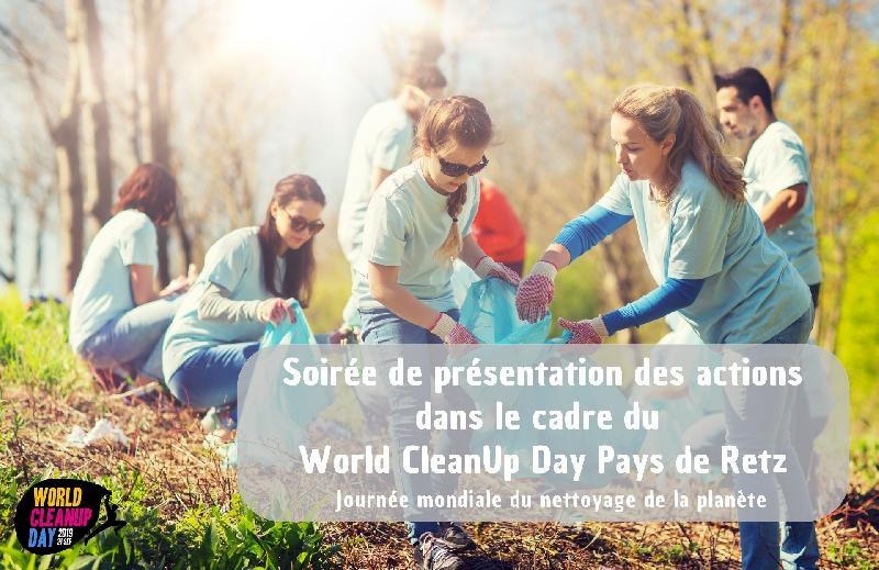 Réunion coordination du World CleanUp Day Pays de Retz