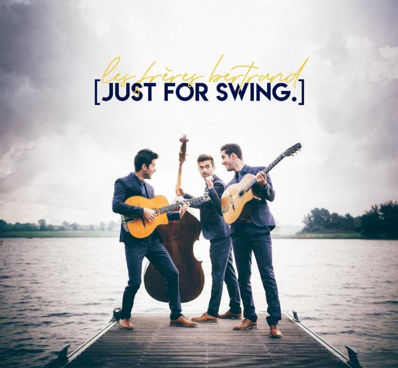 28/09/2019 – Venez vibrer avec Just for swing, du jazz, du swing et trois frères passionnés à partir de 19h