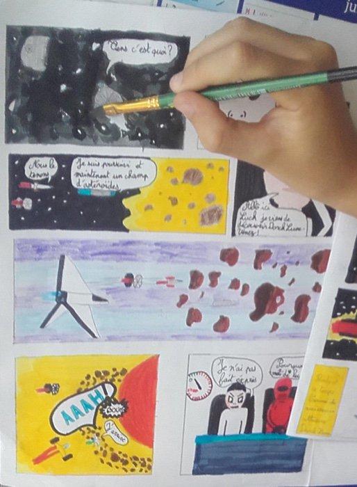 Stage dessin peinture 7 à 14 ans