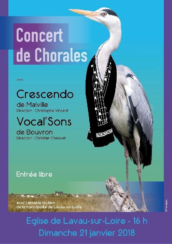 Concert avec Crescendo et Vocal'sons