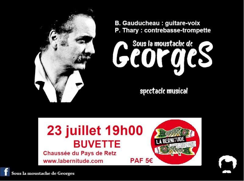 Sous La Moustache de Georges