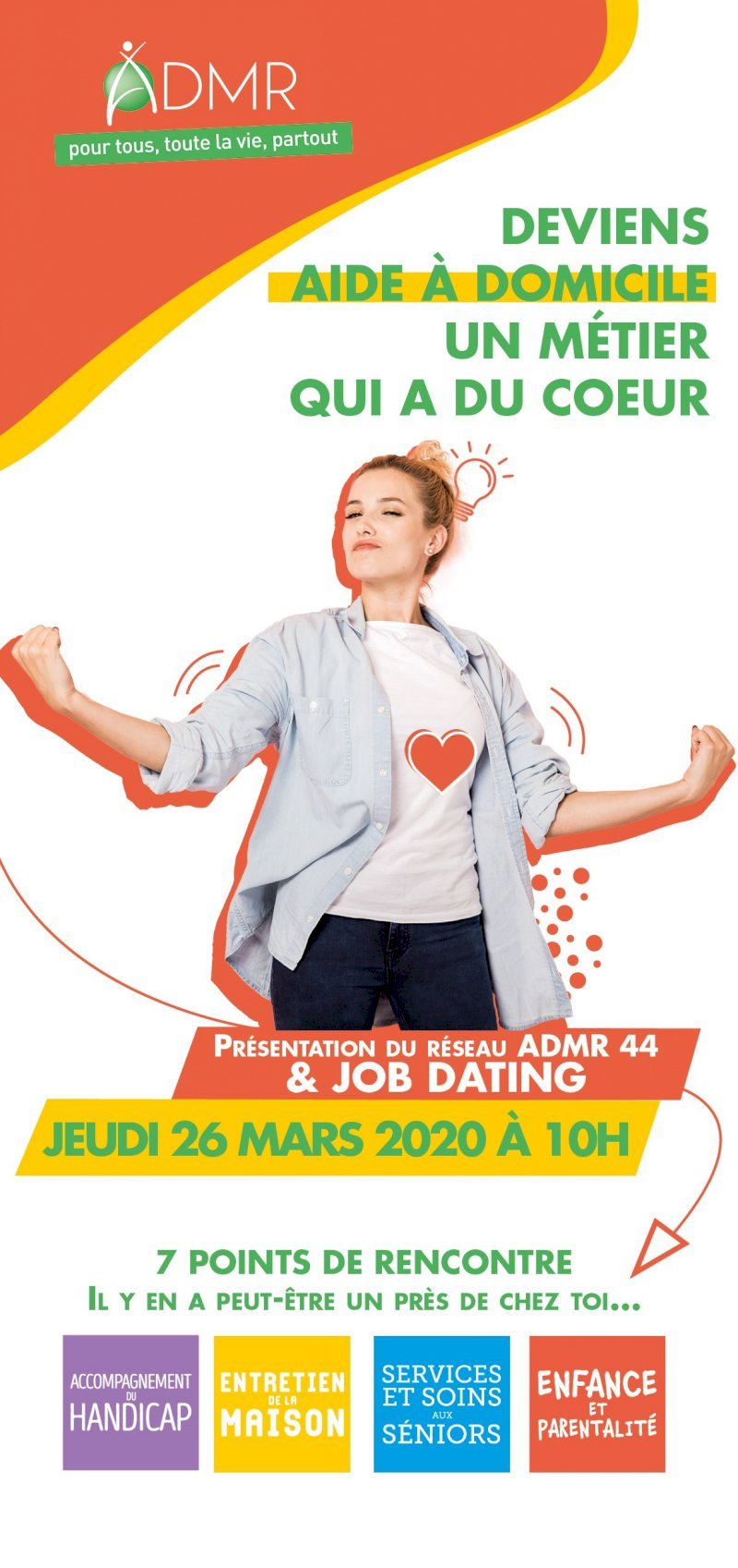 Matinée job-dating à l'ADMR