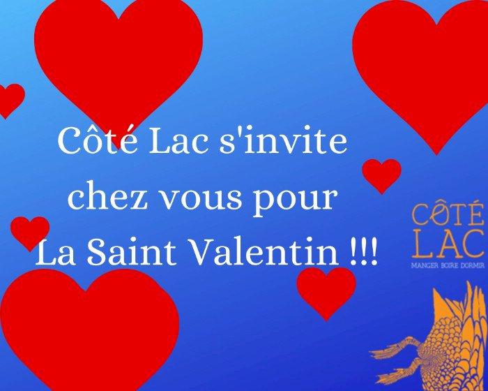 """Chez Côté Lac à Savenay, nous préparons La """"Saint-Valentin"""" !!!"""