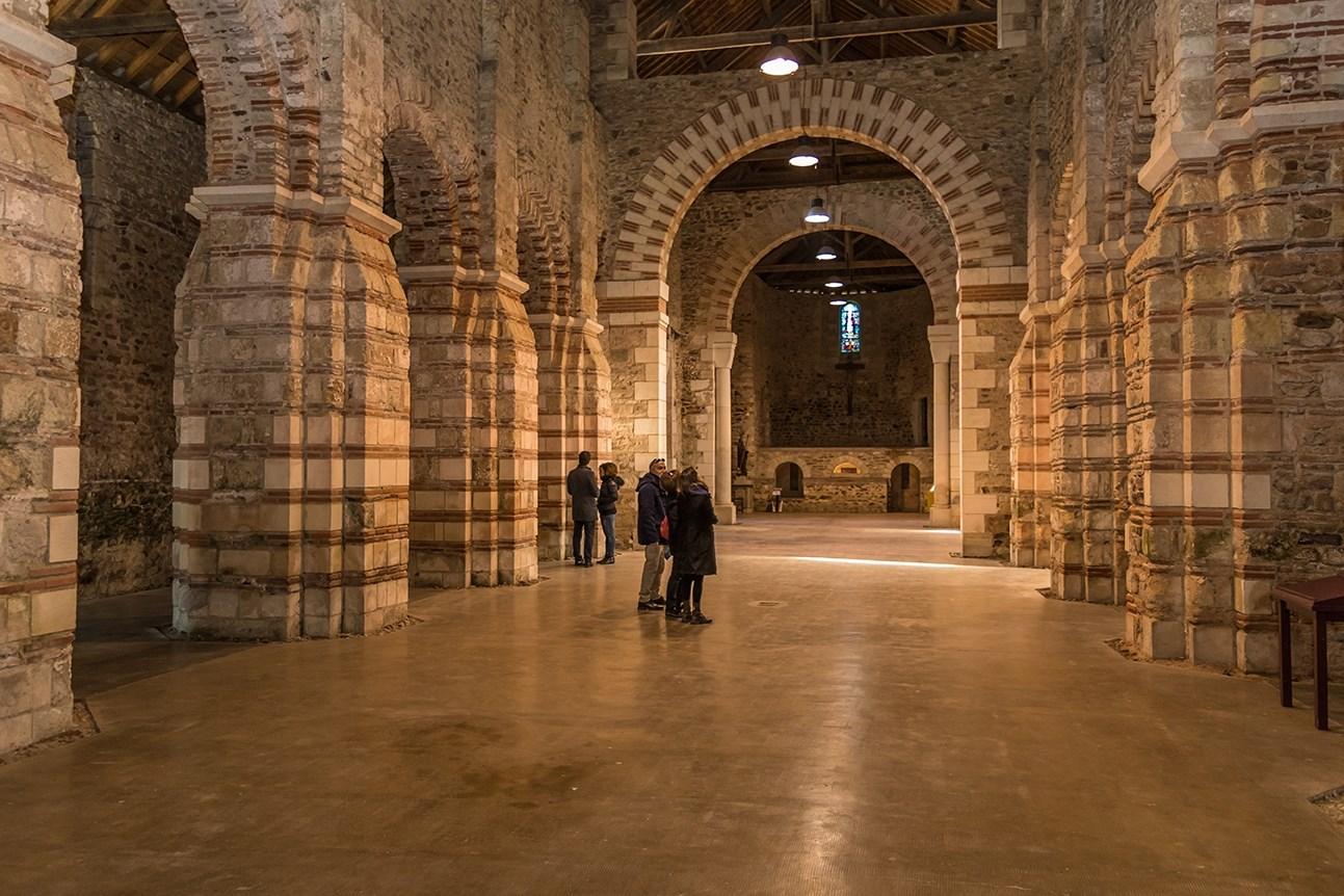 Visite guidée « Histoire et architecture du site de l'abbatiale »