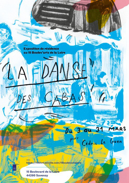 Atelier de création collective – Cédric Le Guen « La danse des cabas »