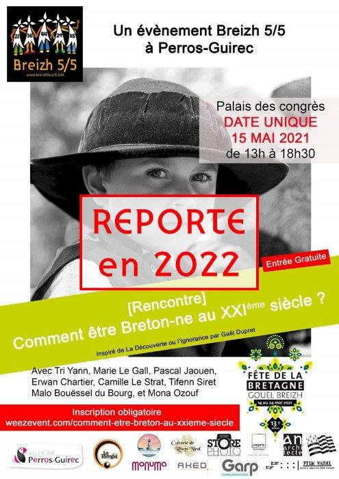 Conférence : Comment être breton.ne au XXIème siècle ?