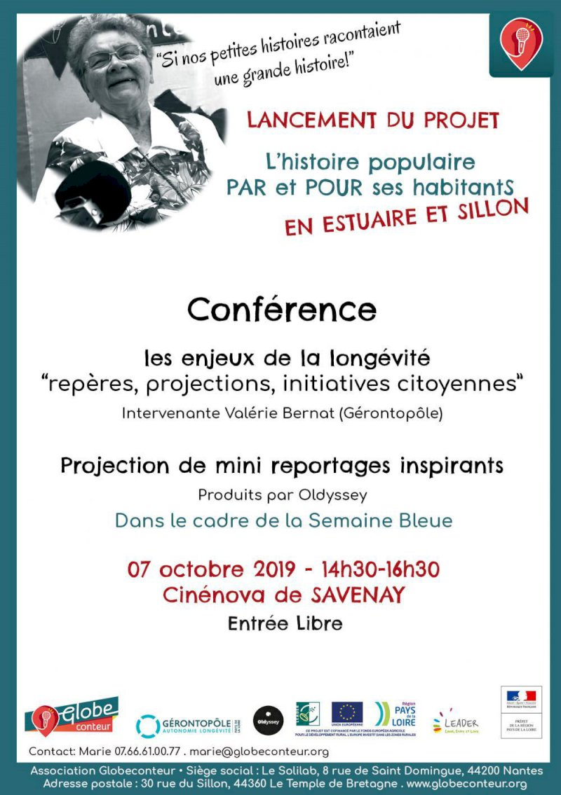 Conférence sur les enjeux de la longévité « Repères, enjeux, projections, initiatives citoyennes... »