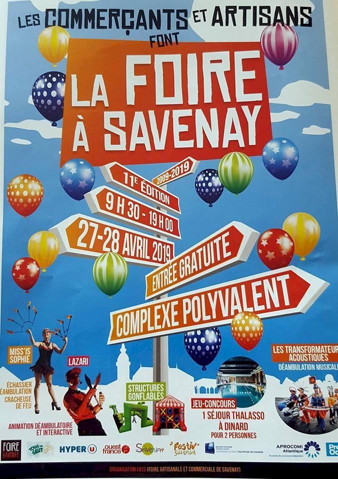 LA  FOIRE A SAVENAY