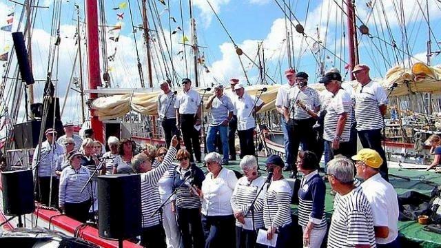 « Vent arrière » chants de marins pour le Téléthon