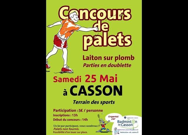Concours de palets - Club de Badminton