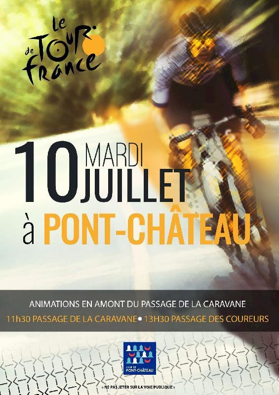 Le tour de France de passage à Pontchâteau