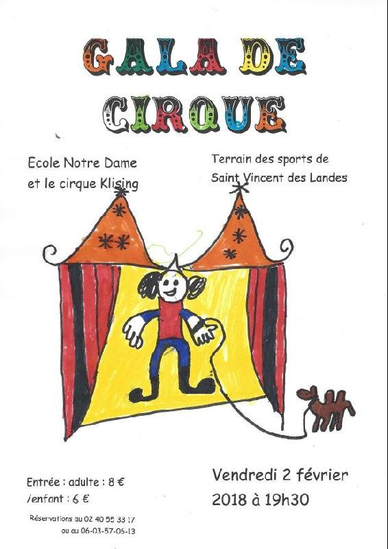 Gala de cirque de l'école Notre Dame