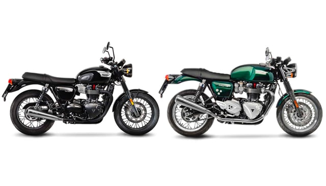 New exhaust system LeoVince CLASSIC RACER for TRIUMPH BONNEVILLE T100 2016-2017 and TRIUMPH THRUXTON 2016-2017