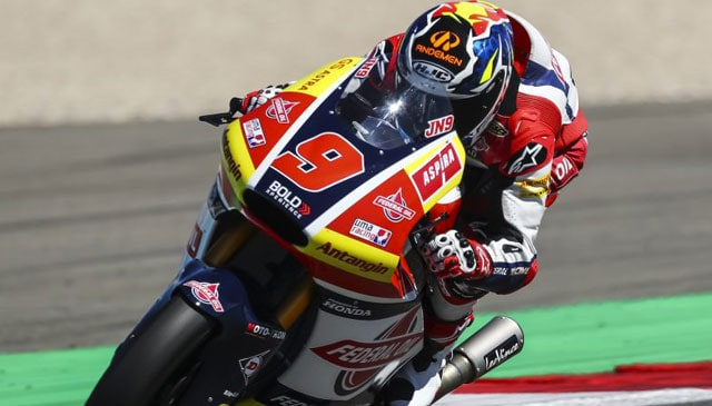 Navarrao back in the points at DutchGP