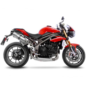 The new LeoVince LV ONE EVO for TRIUMPH SPEED TRIPLE 1050 R/S 2016-2017