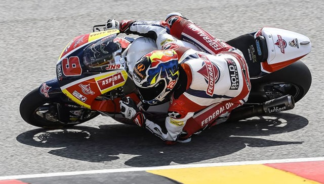 Navarro back into Top-Ten at #GERMANGP