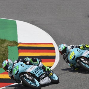 A complicated race at Sachsenring, Leopard Racing looks ahead