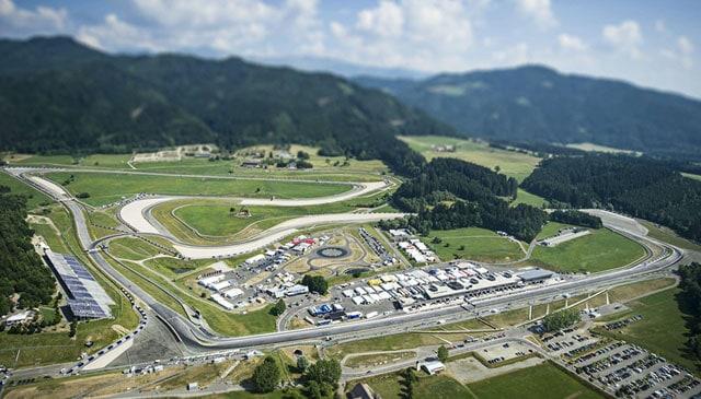 eyetime Motorrad Grand Prix von Österreich