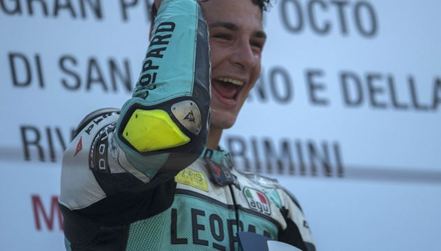 Lorenzo Dalla Porta takes debut win at home