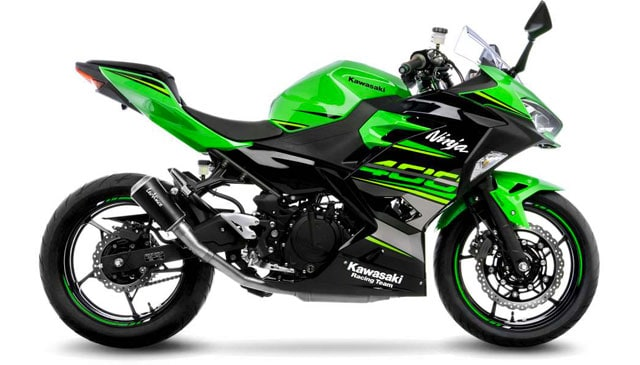 The new LeoVince LV-10 for KAWASAKI NINJA 400 (2018)