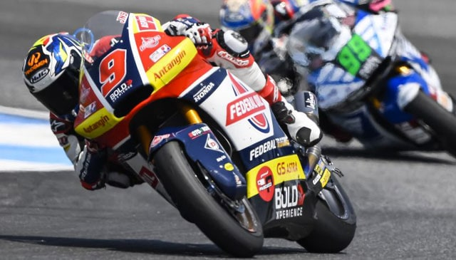 Races of two halves for Navarro in Buriram