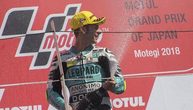 Second podium in a row for Dalla Porta