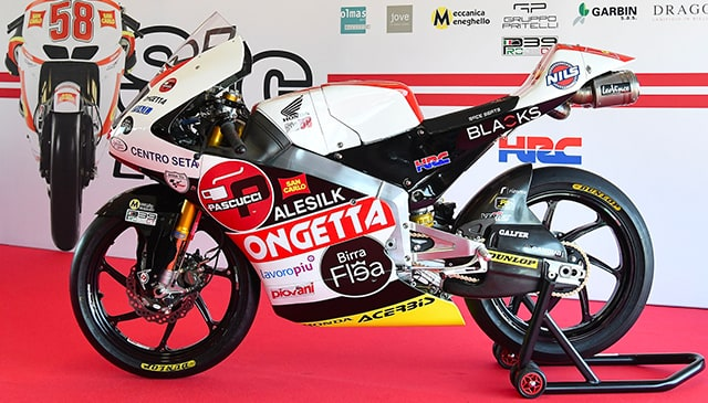 LeoVince Official Sponsor of Team SIC58 Squadra Corse