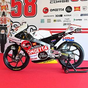 LeoVince Official Sponsor of Team SIC58 Squadra Corse
