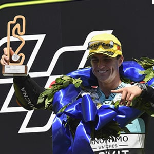 The taste of the first victory: Marcos Ramirez wins in Catalunya