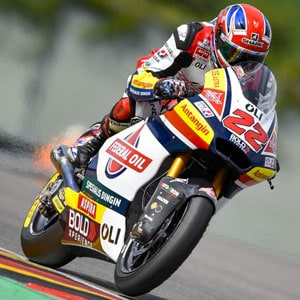 Lowes just outside the top-ten in #germangp race
