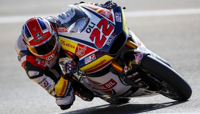 Lowes back in fifth place at Aragon