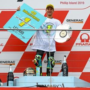 Lorenzo Dalla Porta, 2019 Moto3 World Champion