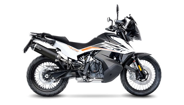 The new LeoVince NERO for KTM 790 ADVENTURE/R (2019-2020)
