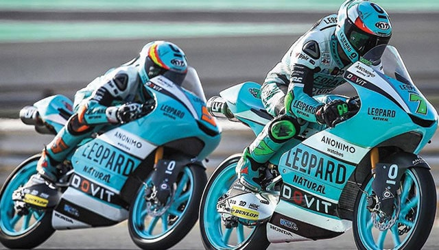 Leopard Racing and LeoVince: renew their agreement for the third consecutive year