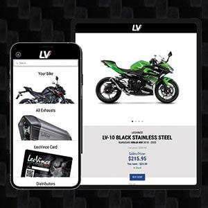 Download the new LeoVince app