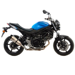 New exhaust systems LeoVince FACTORY S and LV ONE EVO for SUZUKI SV 650