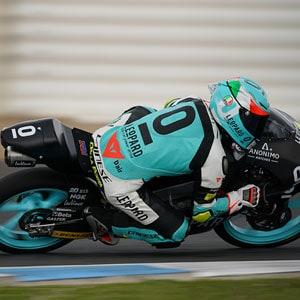 A Jerez continuano i progressi del Leopard Racing