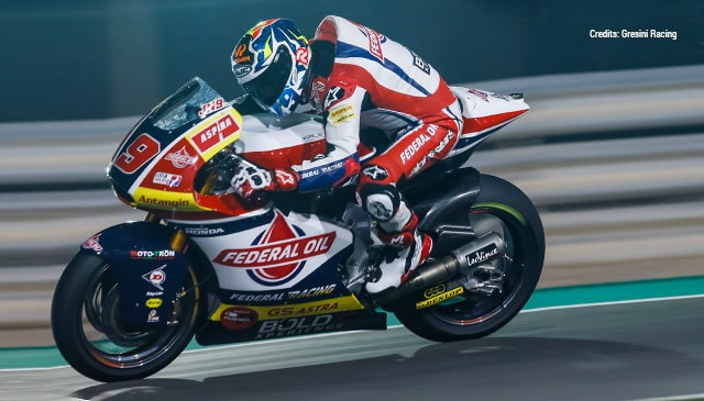 Top-10 finish for Navarro in Qatar