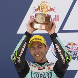 Second step of the podium for Bastianini in Austin