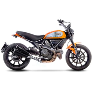 New exhaust system LeoVince GP DUALS for DUCATI SCRAMBLER 800 and KAWASAKI Z 800