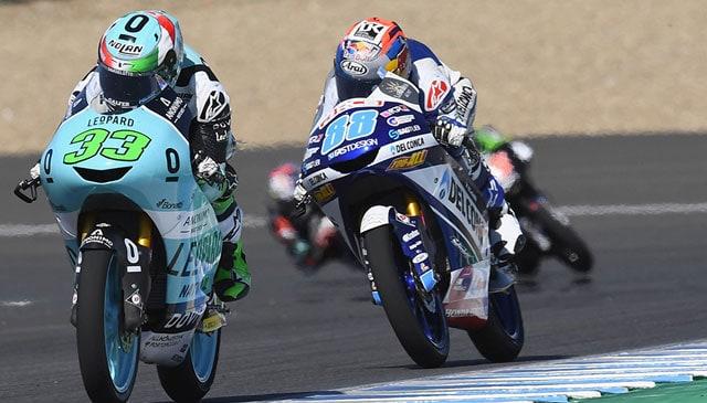 Gara sfortunata per il team Leopard Racing in Andalusia
