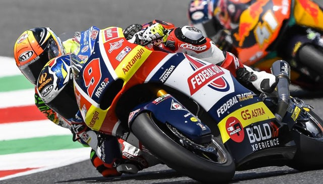 Italian GP to forget for Jorge Navarro