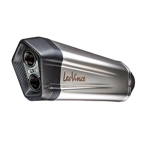 LEOVINCE LV-12 ACERO INOX