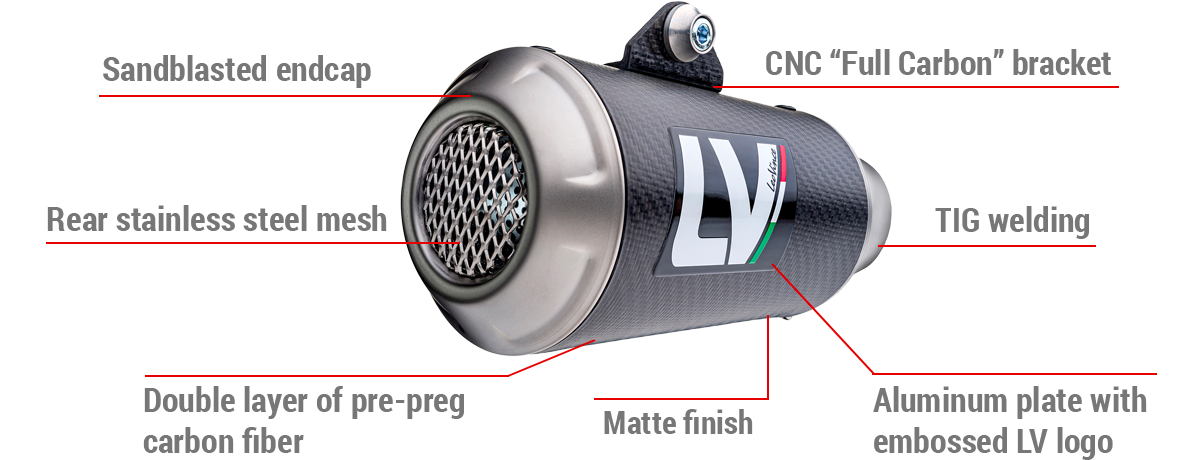 LV-10 Carbon Fiber Features