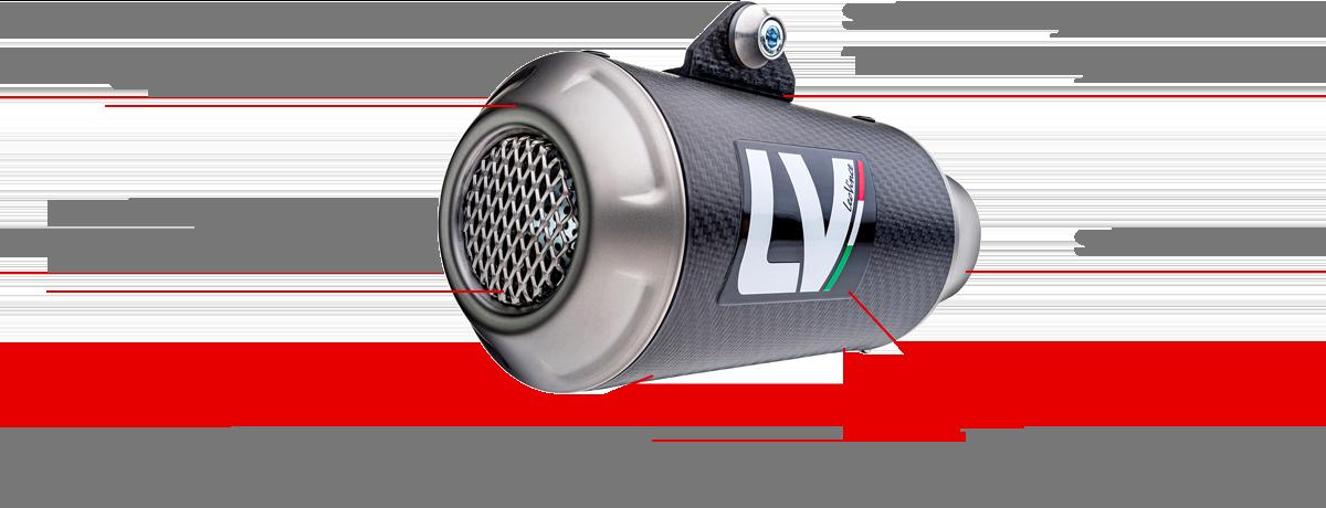 LV-10 Carbon Fiber Caratteristiche