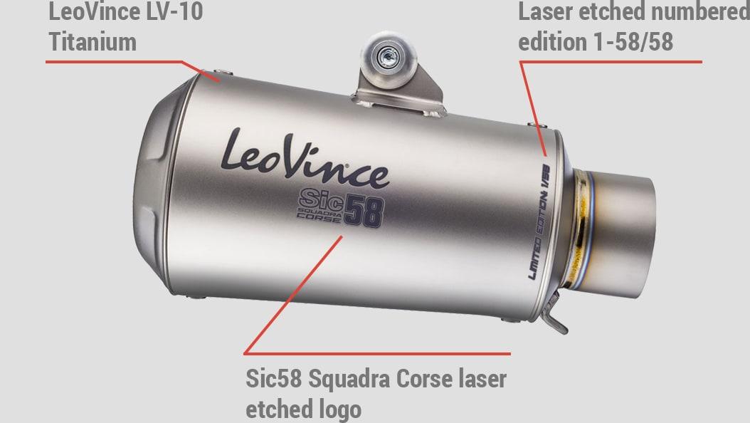 LV-10 TITANIUM SIC58 Squadra Corse Limited Edition