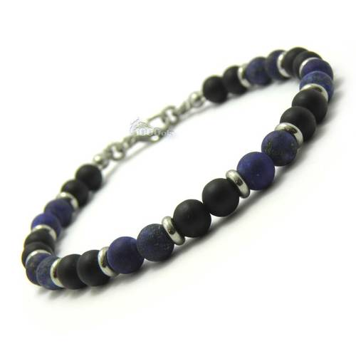bracelet homme perle 4mm